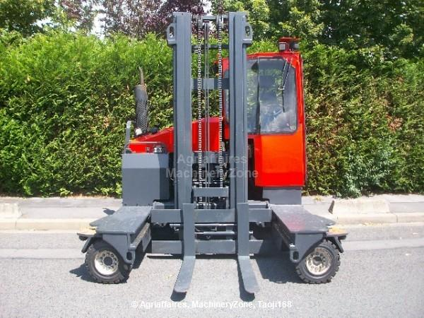 Four way forklift